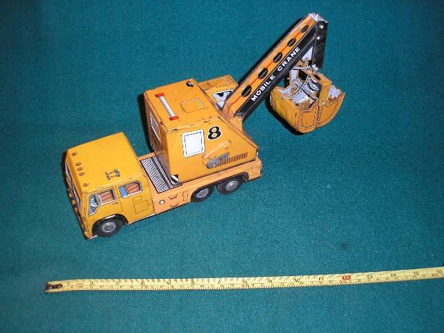 Samochód DAIYA Mobile Crane Made in Japan 30 cm,