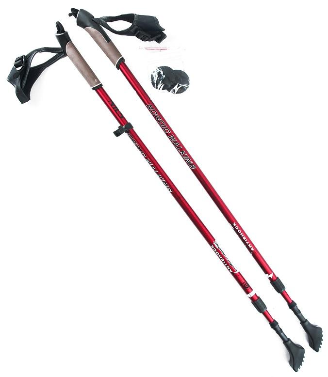 NILS Kije Nordic Walking Aluminiowe 86-140cm NW802