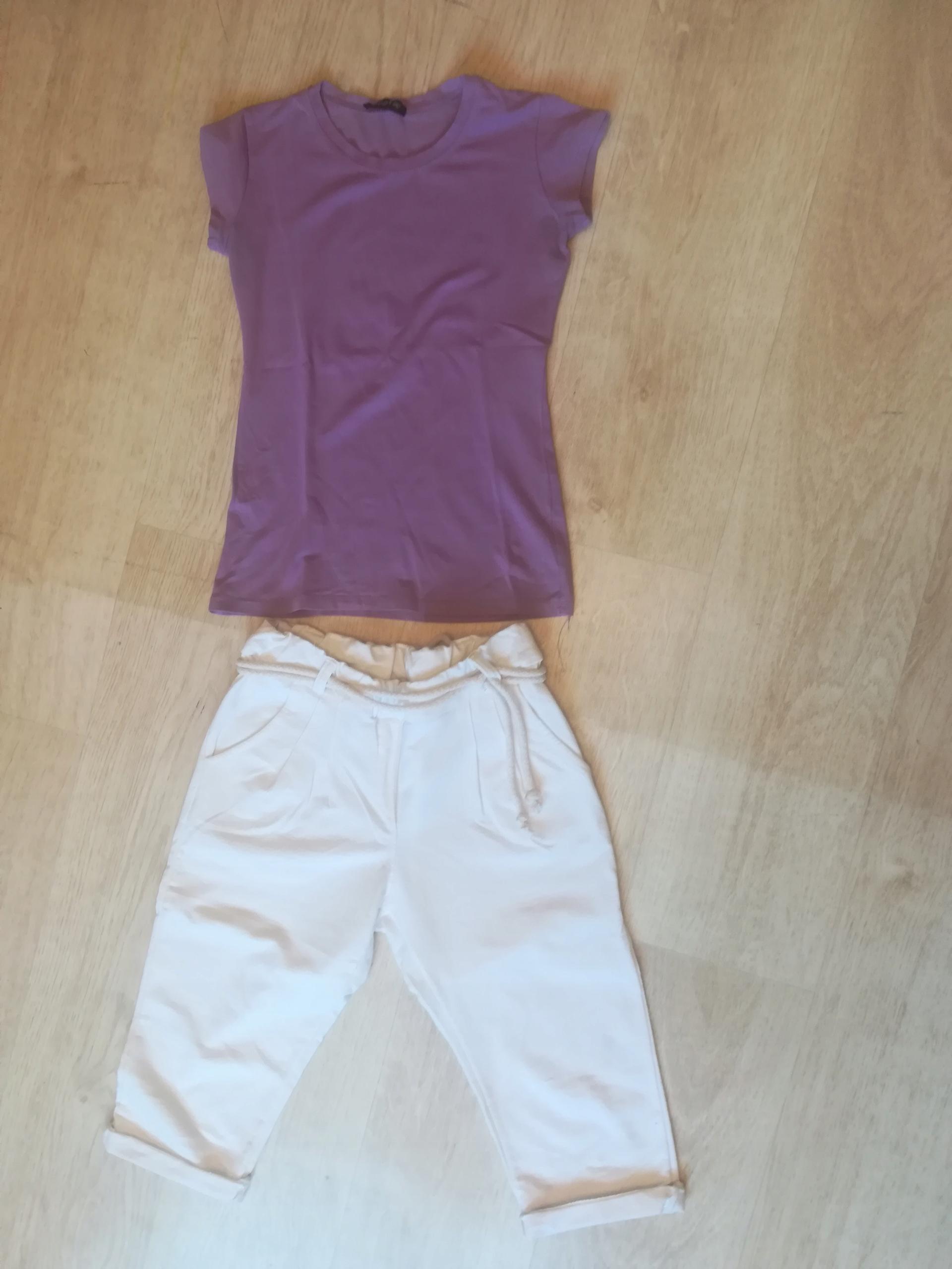 Komplet spodenki plus koszulka damska S