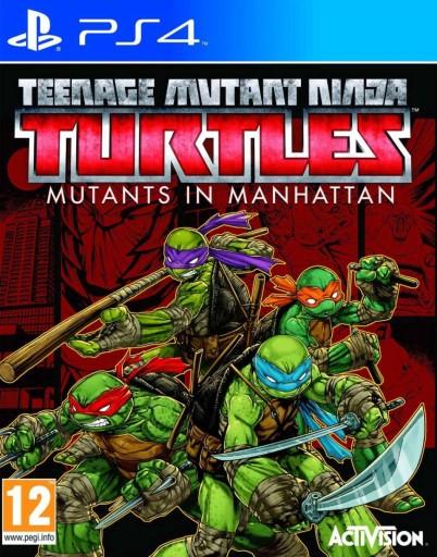 GRA PS4 TURTLES MUTANTS IN MANHATTAN SPRAWNA