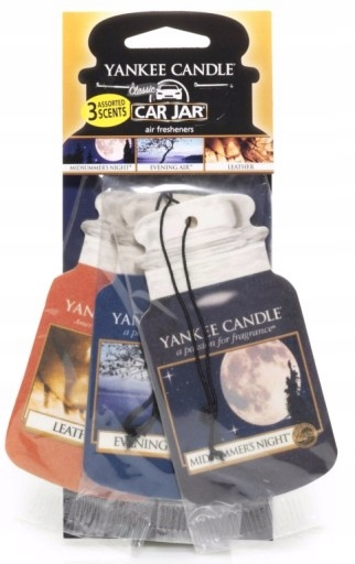 Yankee Candle Zawieszka CRUISE NIGHT 3-PACK