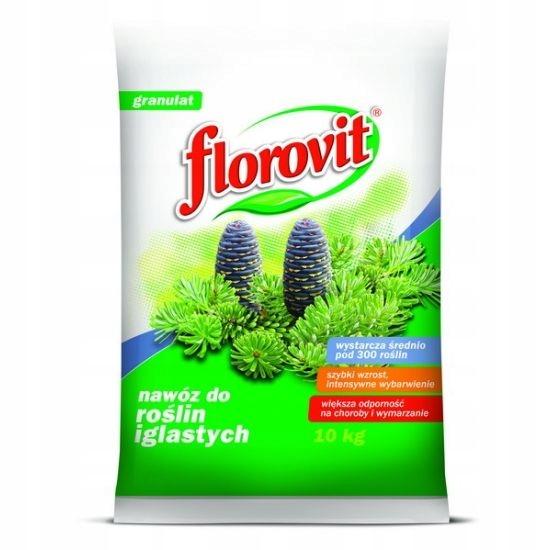 Florovit nawóz do iglaków granulat 10 kg
