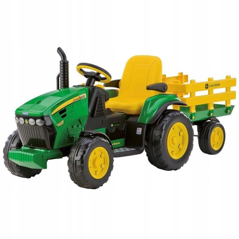 Traktor Na akumulator Peg Perego John Deere Power