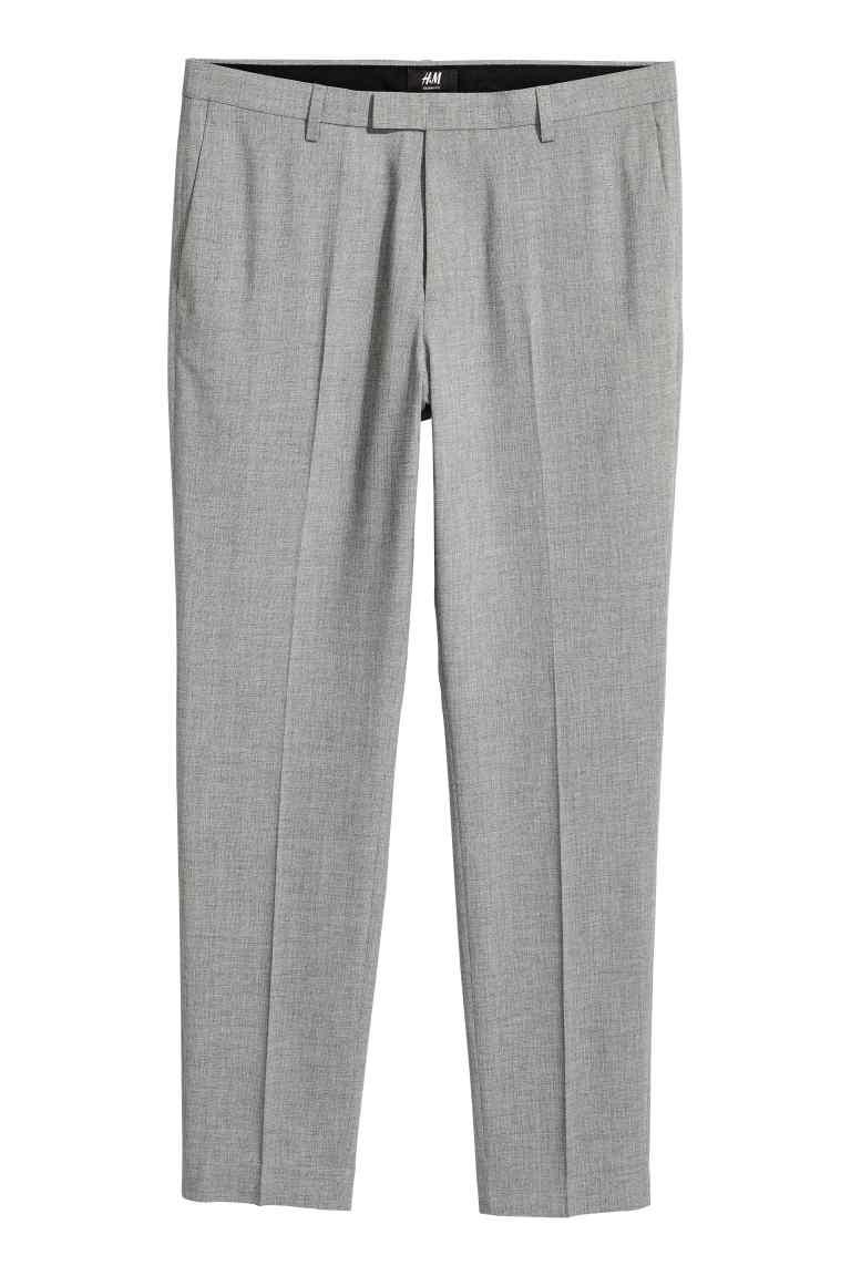 H&M Spodnie garniturowe Skinny fit rozm. 48