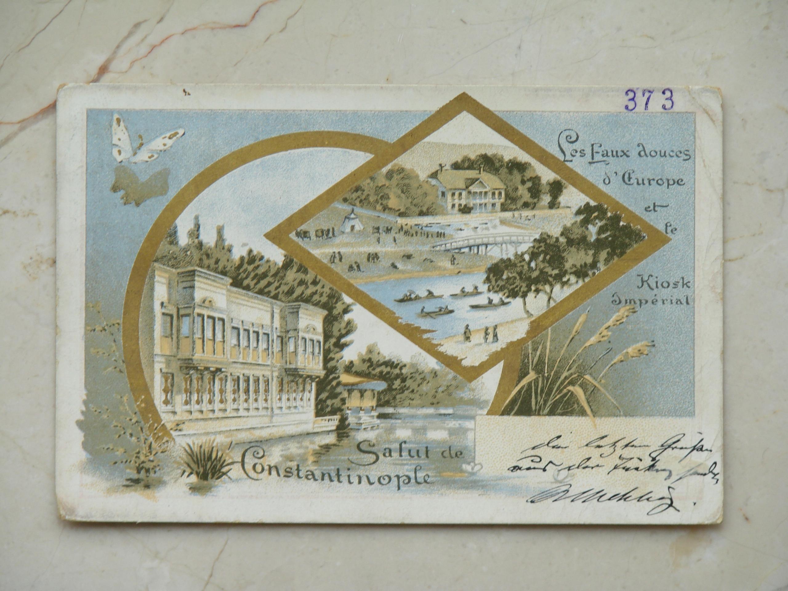 Constantinople, Turquie - Stambuł, Turcja - 1897 r