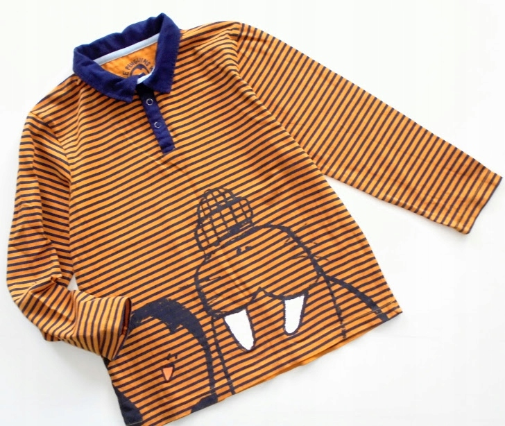 5.10.15 bluzeczka POLO LITTLE PENGUINS WEAR r.128