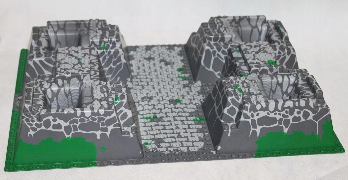 LEGO CASTLE PŁYTA PŁYTKA 3D ZAMEK OGROMNA