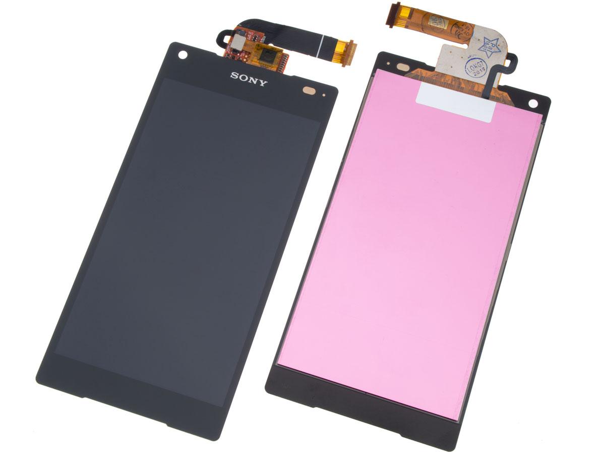 wyświetlacz LCD = Sony Xperia Z5 compact = czarny