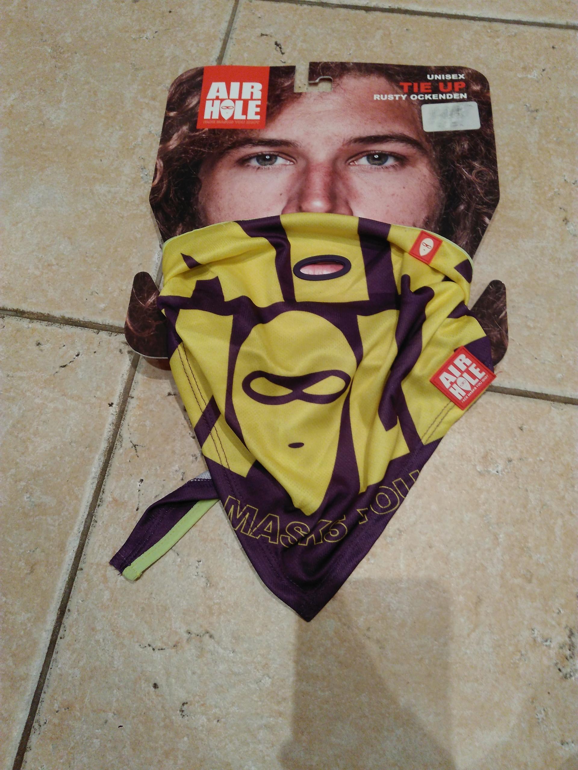 Maska bandana facemask - snowboard narty - Airhole