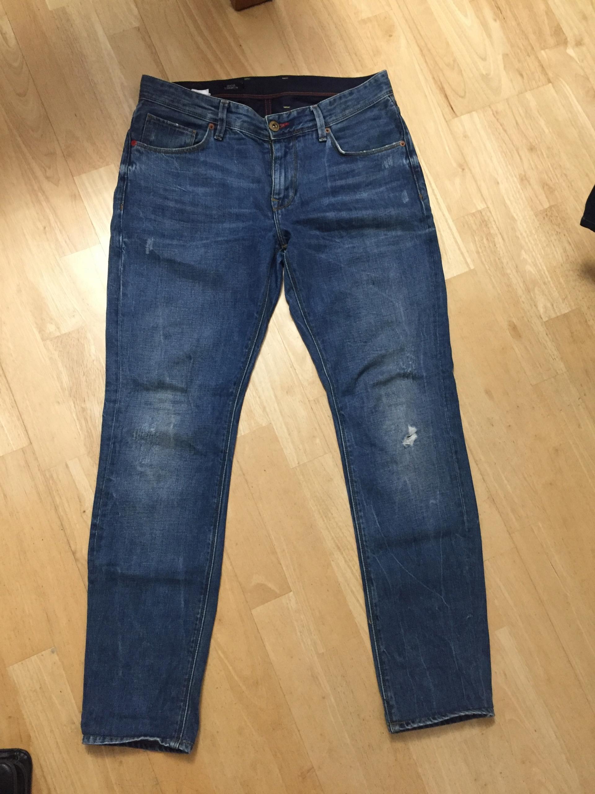 Tommy Hilfiger Spodnie Jeansowe SLIM 32/32 j. nowe