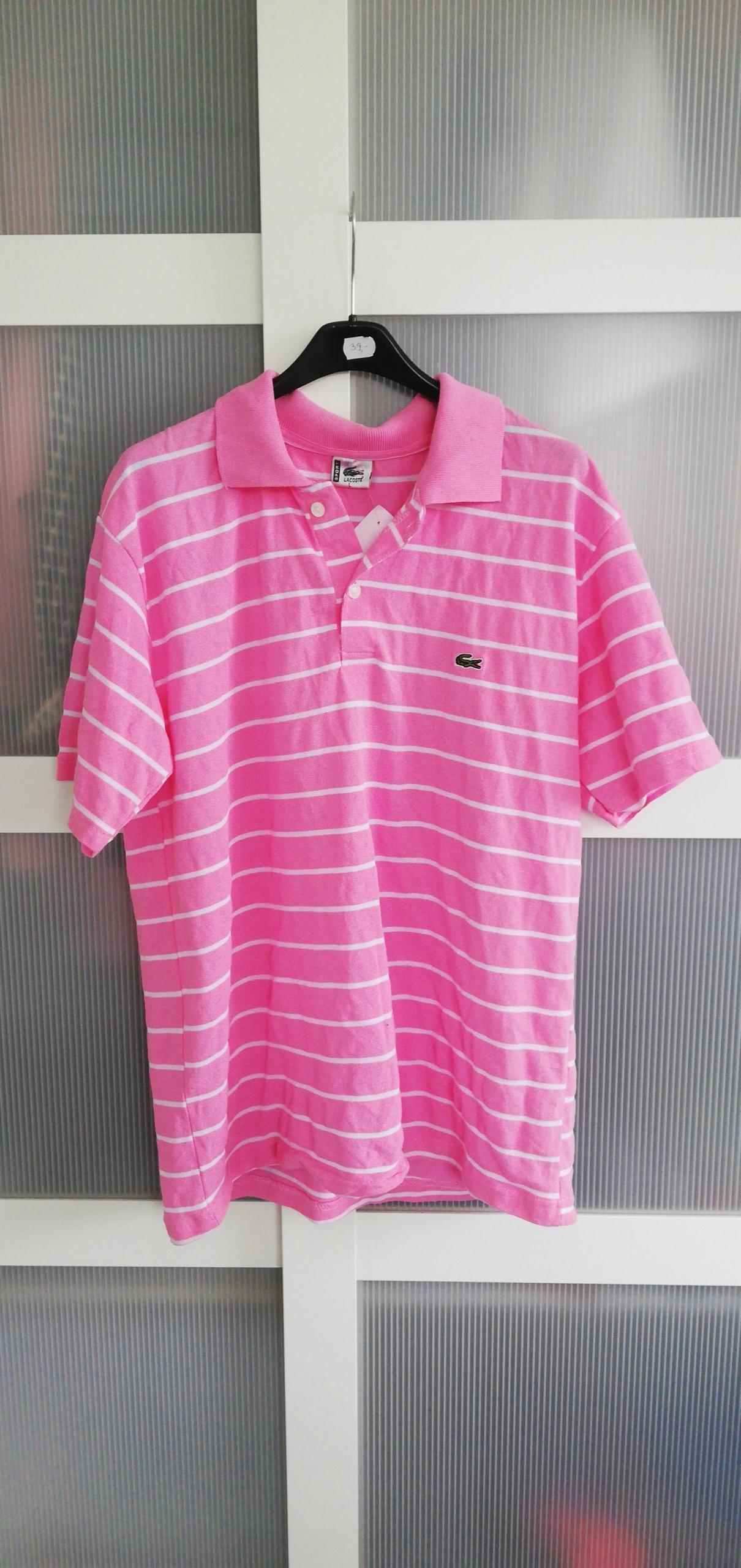 Lacoste t-shirt/polo r L