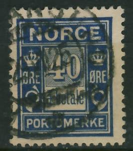 Norwegia 40 ore - Porto a betale