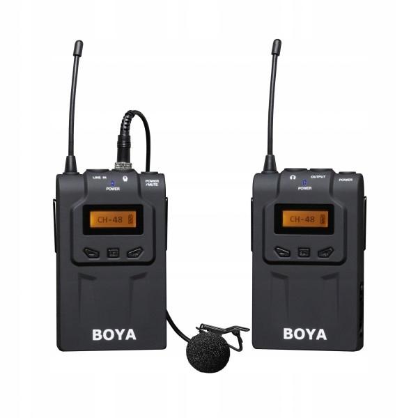 BOYA BY-WM6 - Mikrofon bezprzewodowy / mikroport