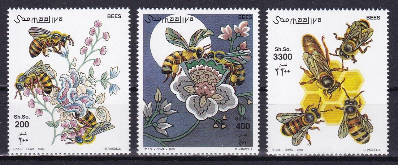 SOMALIA - OWADY - 2000 r. - MNH(**)