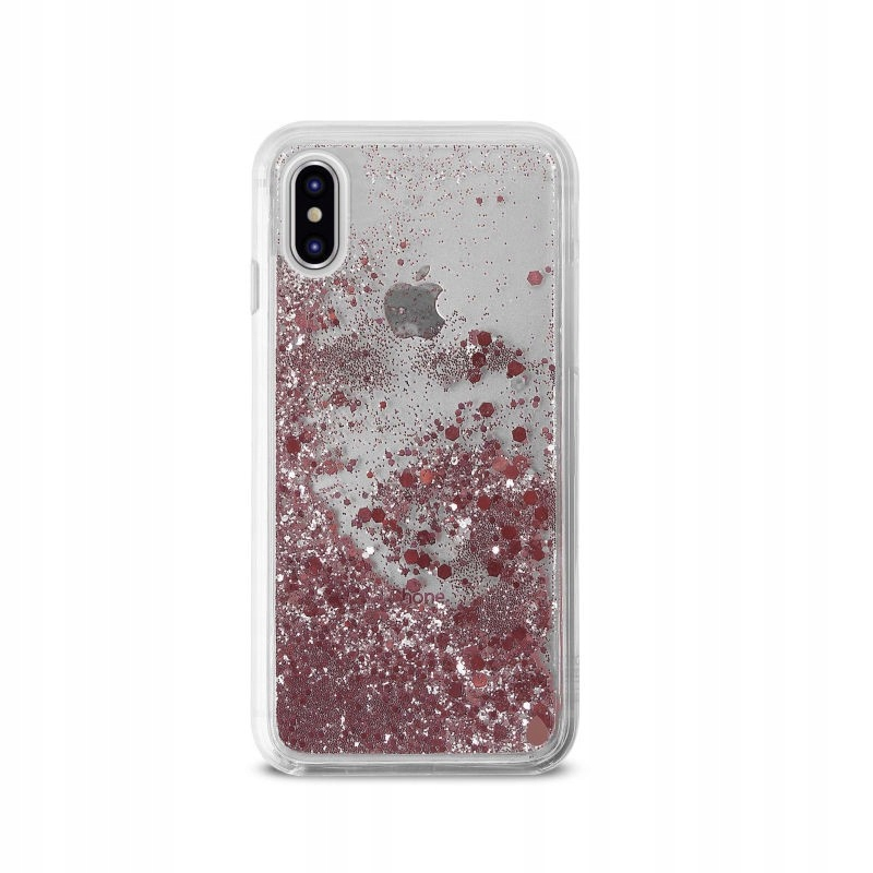 PURO Aqua Winter Cover - Etui iPhone Xs / X (Rose