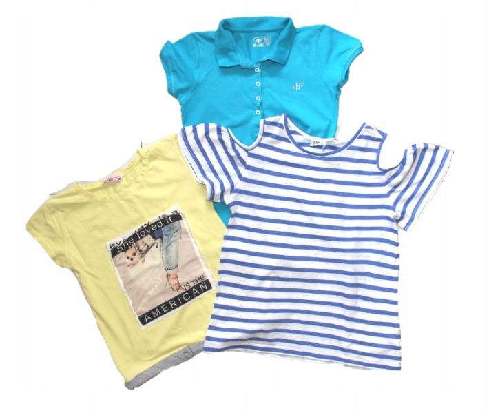 T-shirt x3 GAP , 4F 164 XS