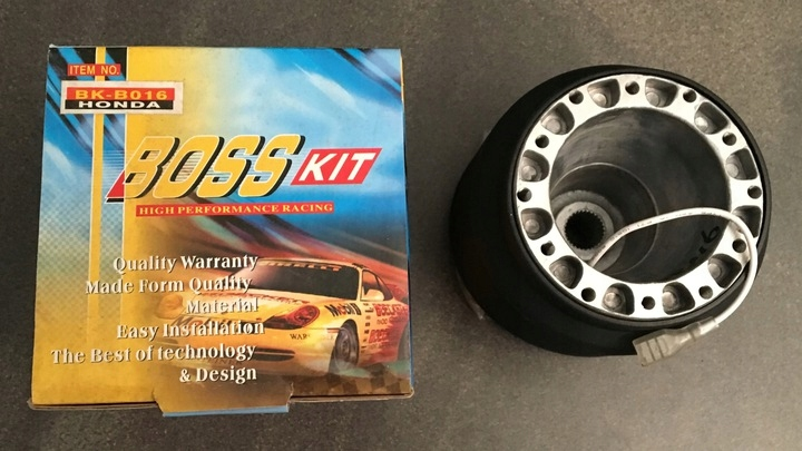 DYSTANS adapter do KIEROWNICY BOSS KIT Honda