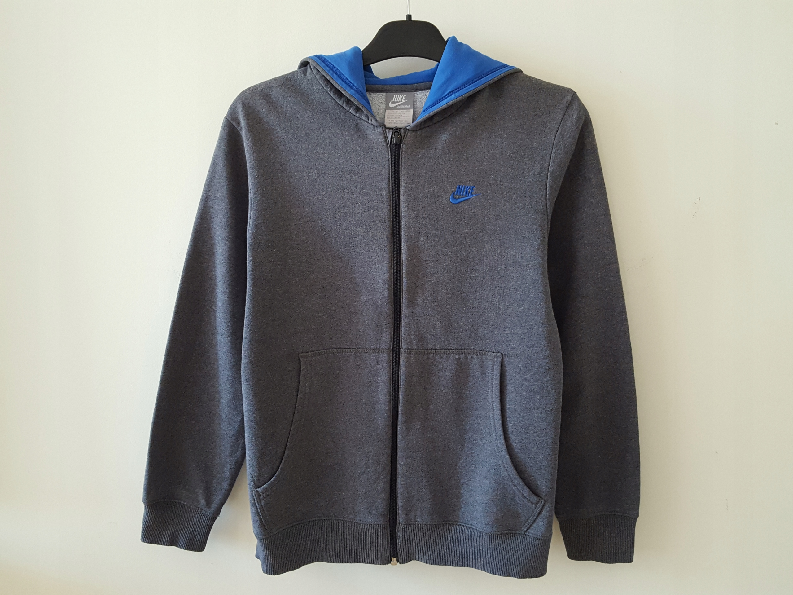 Bluza szara Nike r. 12-13 lat (152-158 cm)