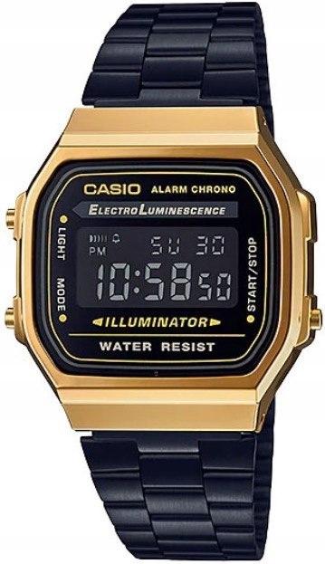 Zegarek Unisex CASIO VINTAGE GENT GOLD BLACK