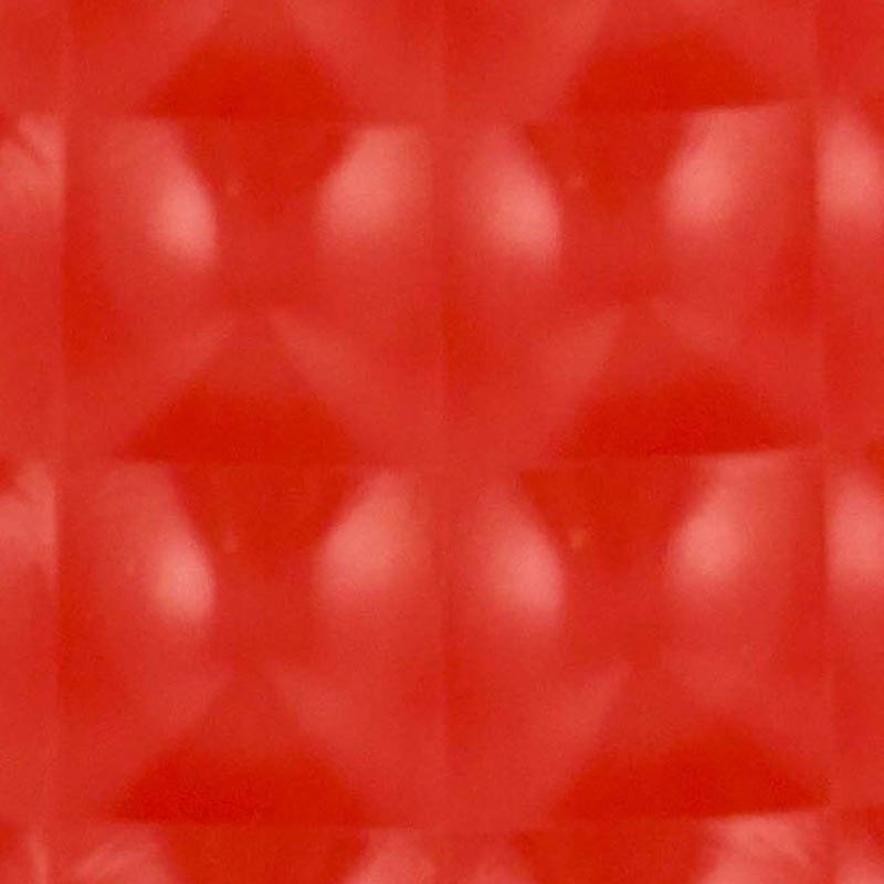 Folia odcinek kocie oczko czerwona 1,52x0,1m