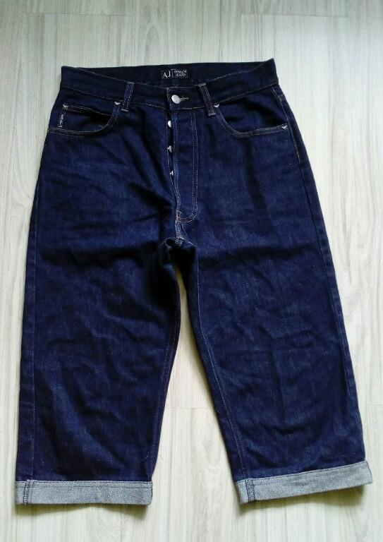 Spodenki męskie jeansowe ARMANI JEANS r. 30
