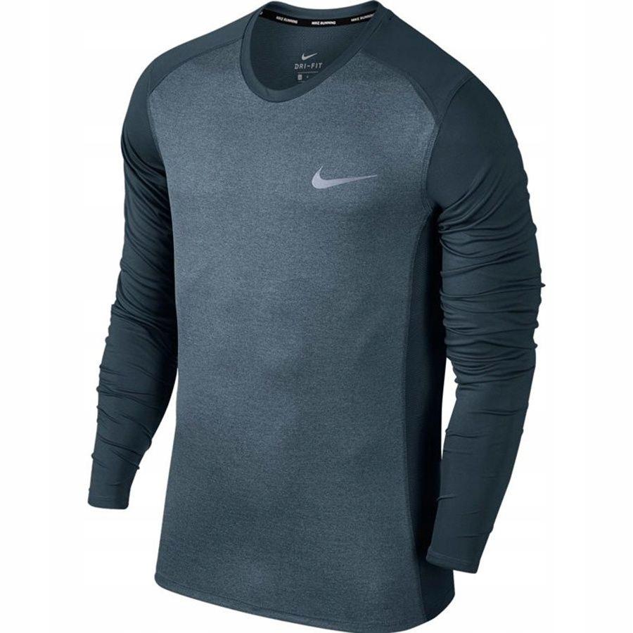 Koszulka Nike Dry Miler Top LS 833593 497 XL niebi
