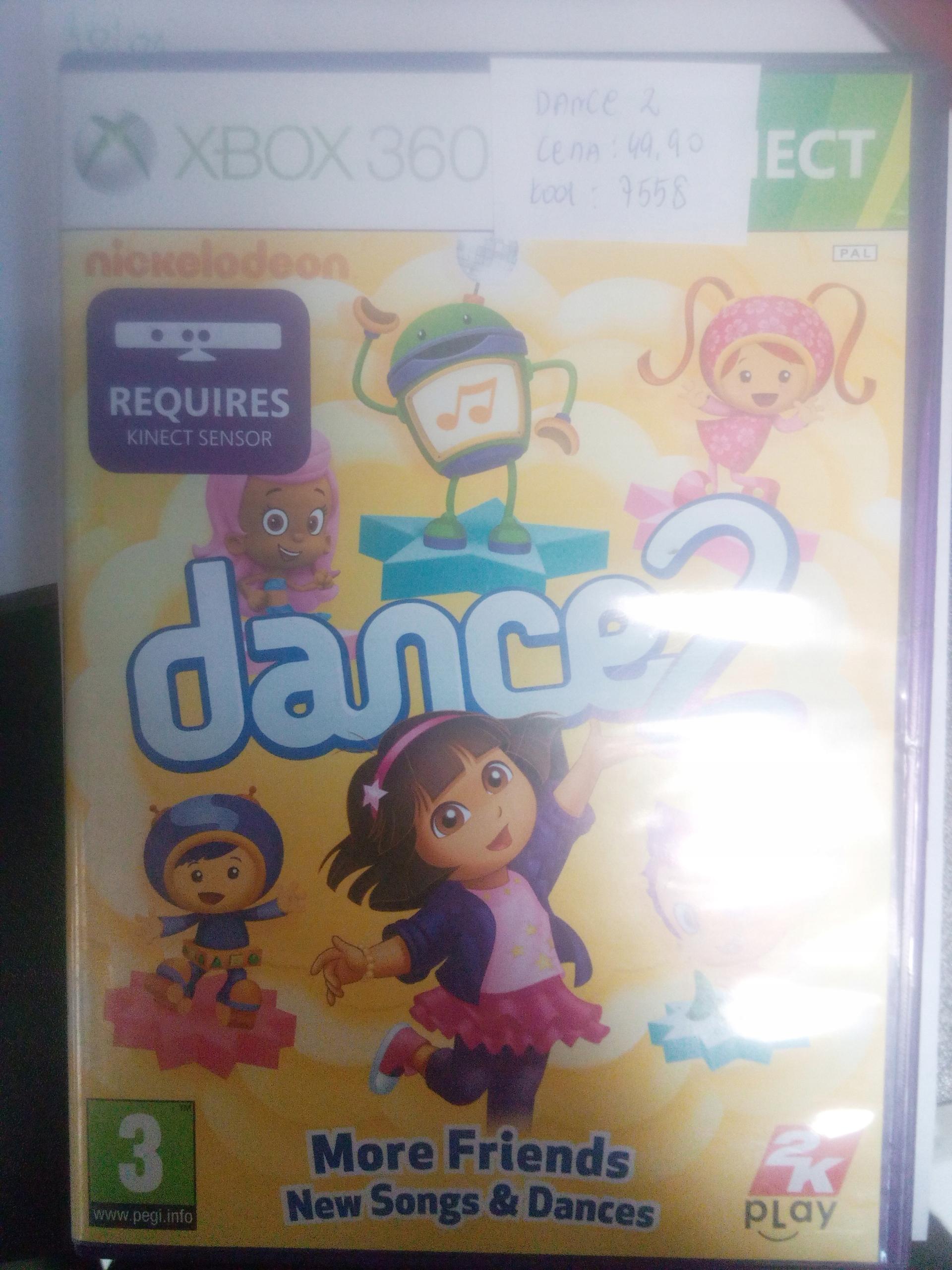NICKELODEON DANCE 2 XBOX 360 SKLEP VIDEOTEKA TYCHY