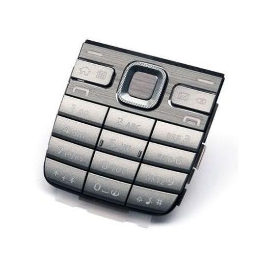 Klawiatura Nokia E52 srebrna oryginał uz