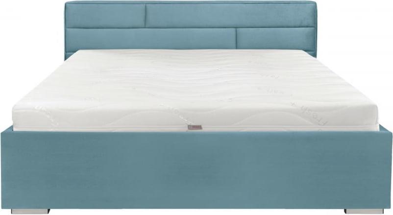 łóżko Tapicerowane 160x200cm Miętowe Kate Brw 6998027520