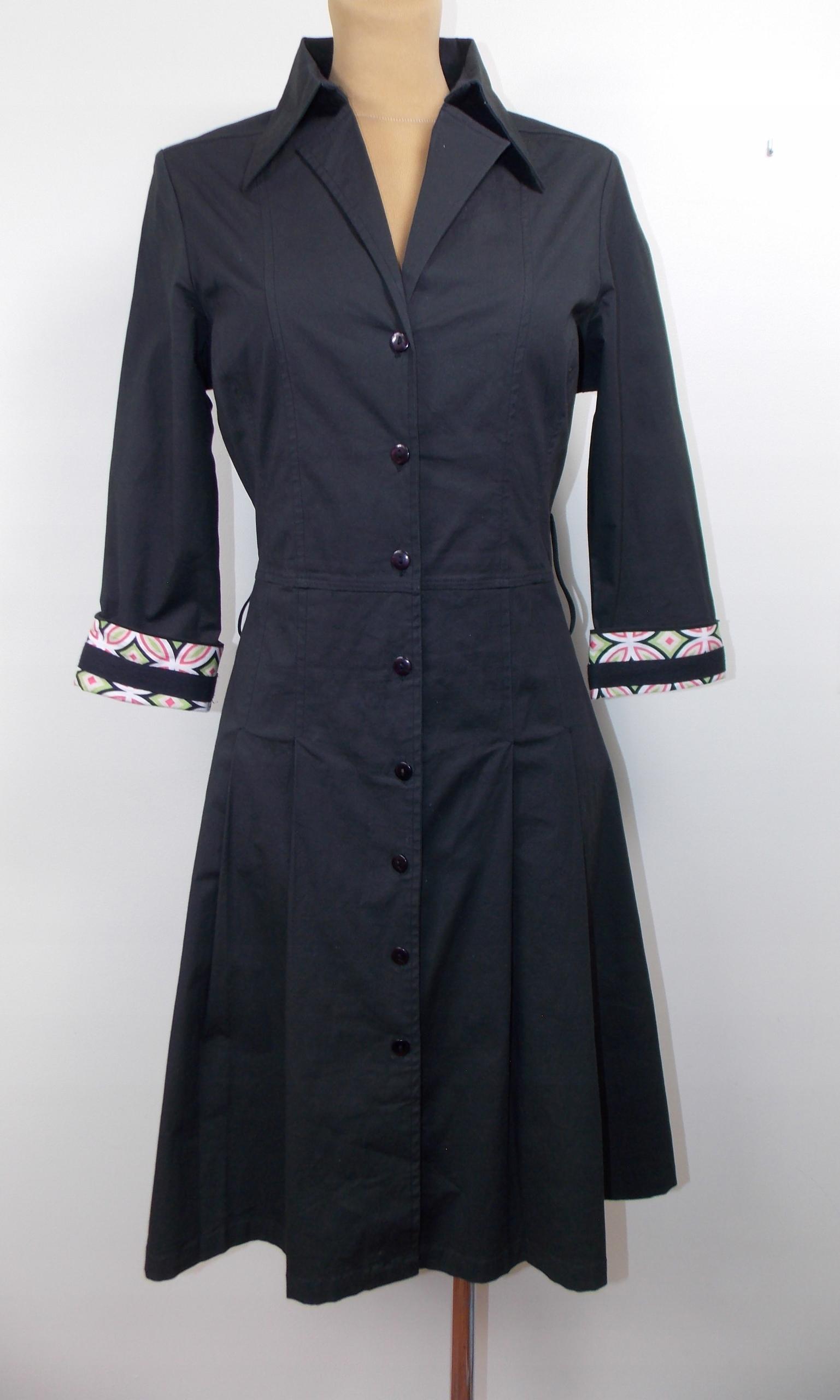 sukienka ONLY j ZARA elegancka biuro szmizjerka 36