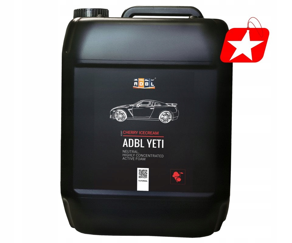 ADBL YETI TROPICAL CHERRY ICE CREAM 5L PIANA