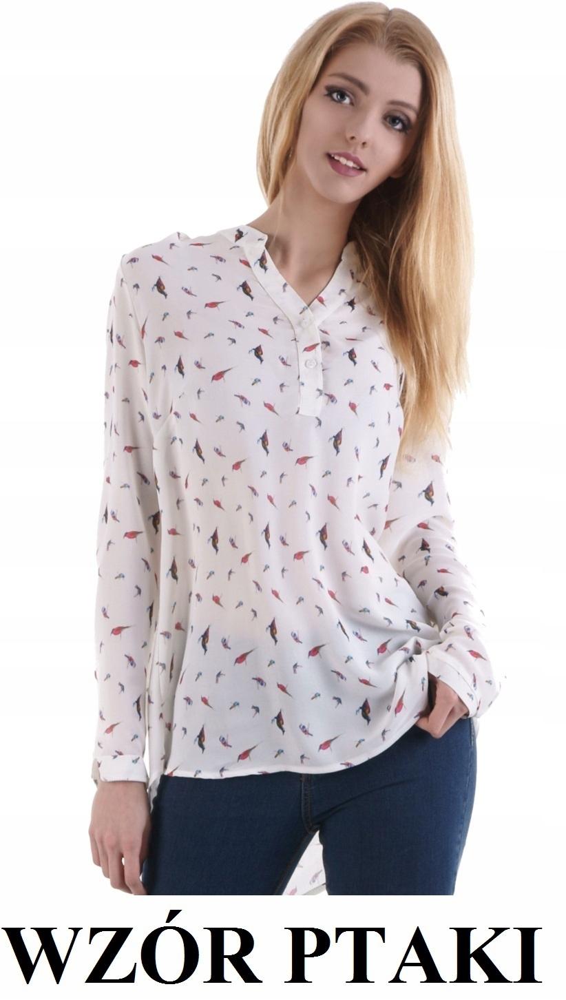 947f06d599533e 06 Elegancka bluzka koszulowa PTAKI R50 II gatunek - 7509897419 ...