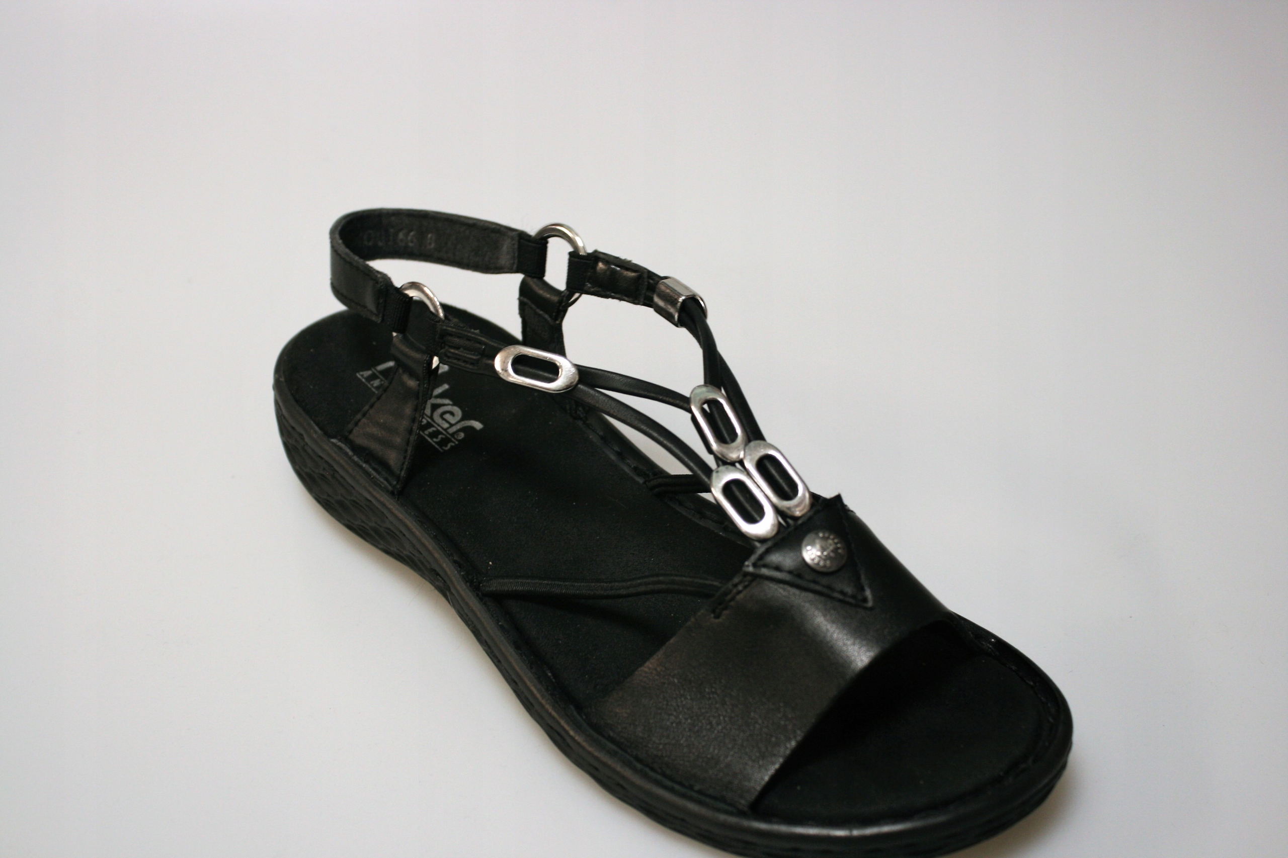 Rieker wygodne sandały damskie V22L9 00 | Sklep obuwniczy