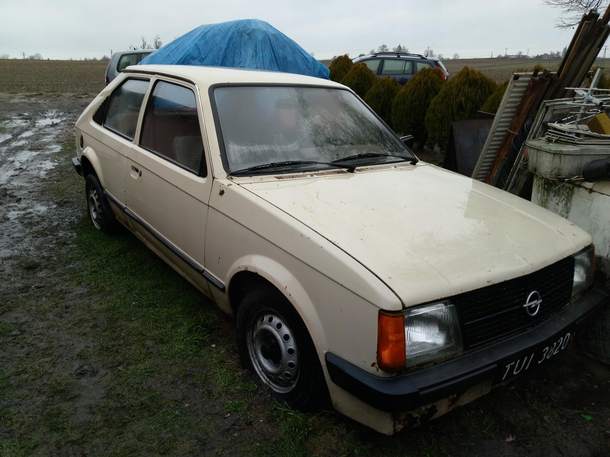 Opel Kadett D 1980 r. w całości lub na części.