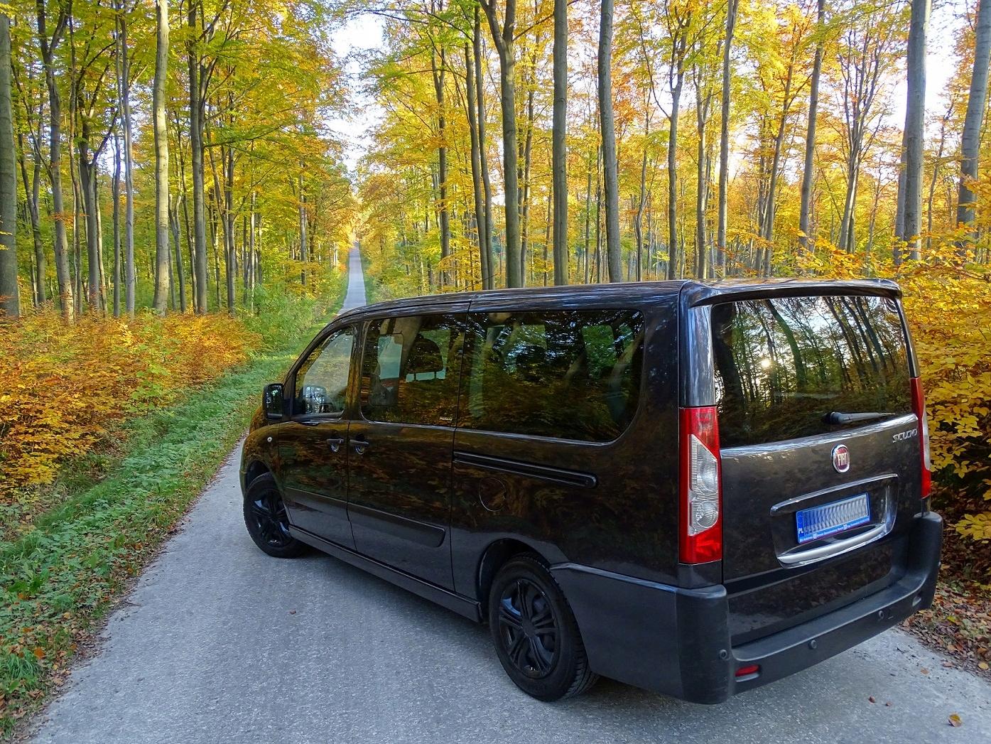 Fiat Scudo, 9 osób, Jumpy Expert nie Trafic Vivaro