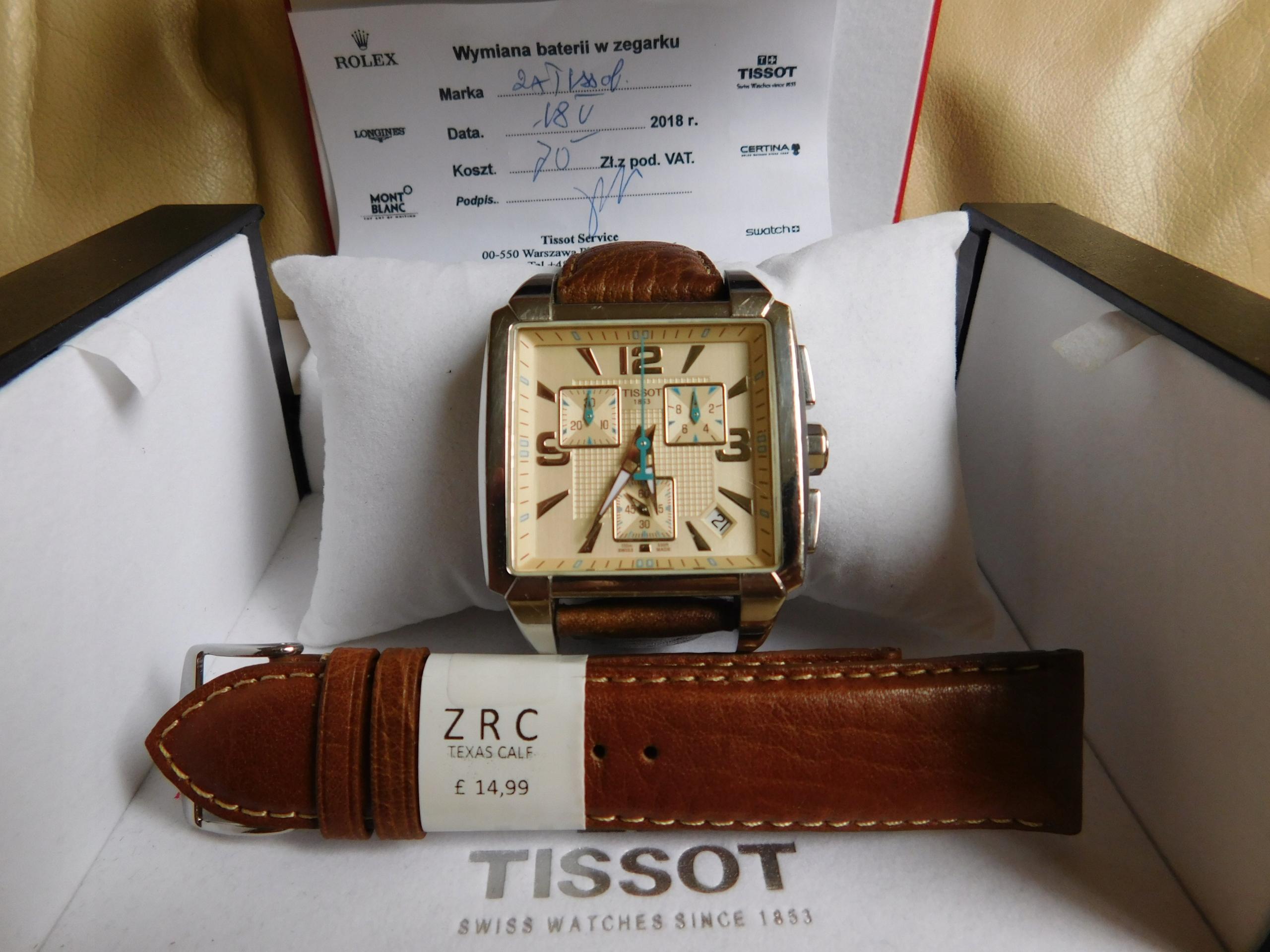 Zegarek Tissot QUADRATO T005.517A