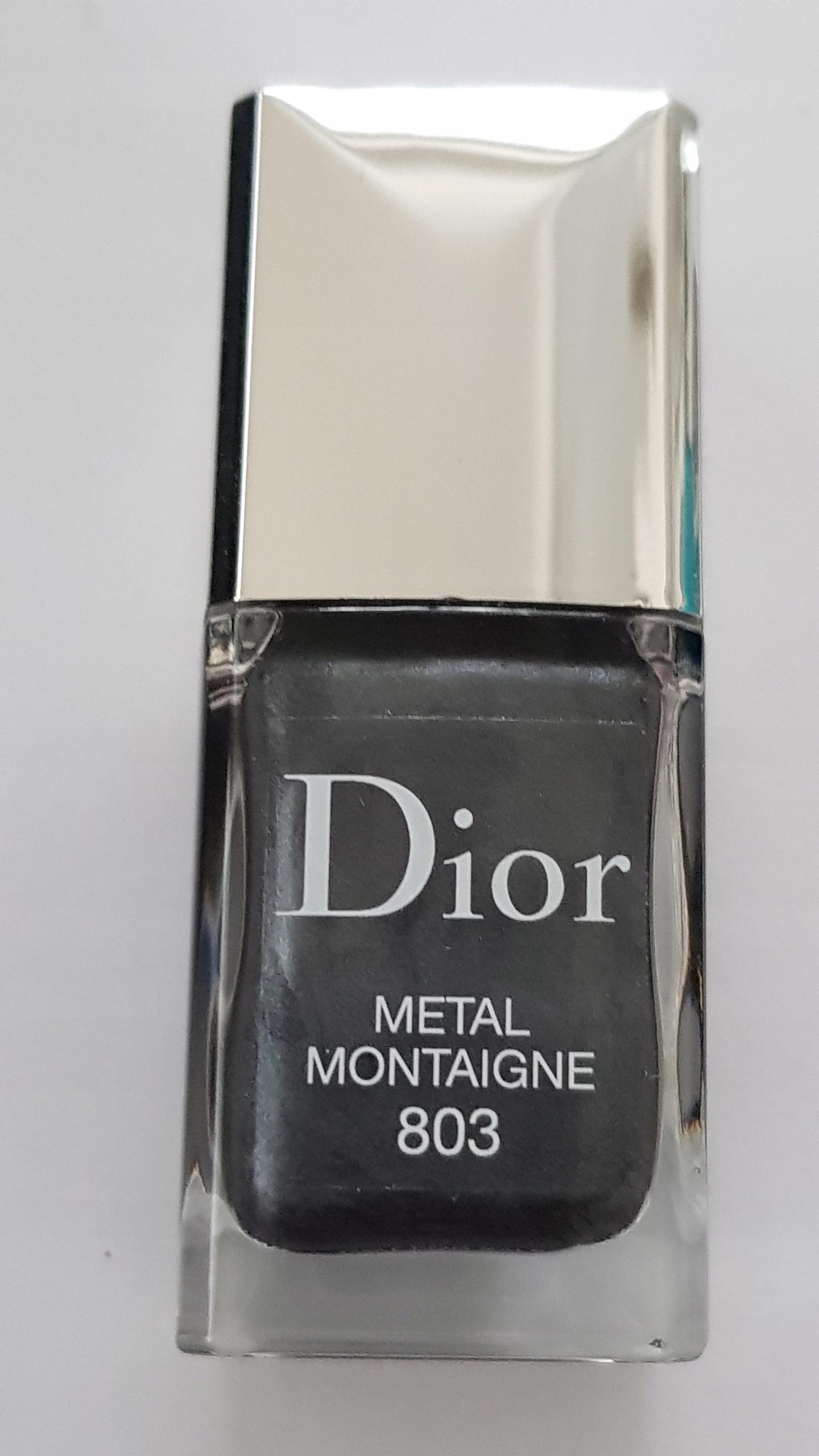 Dior Vernis Metal Montagne 803 lakier do paznokci