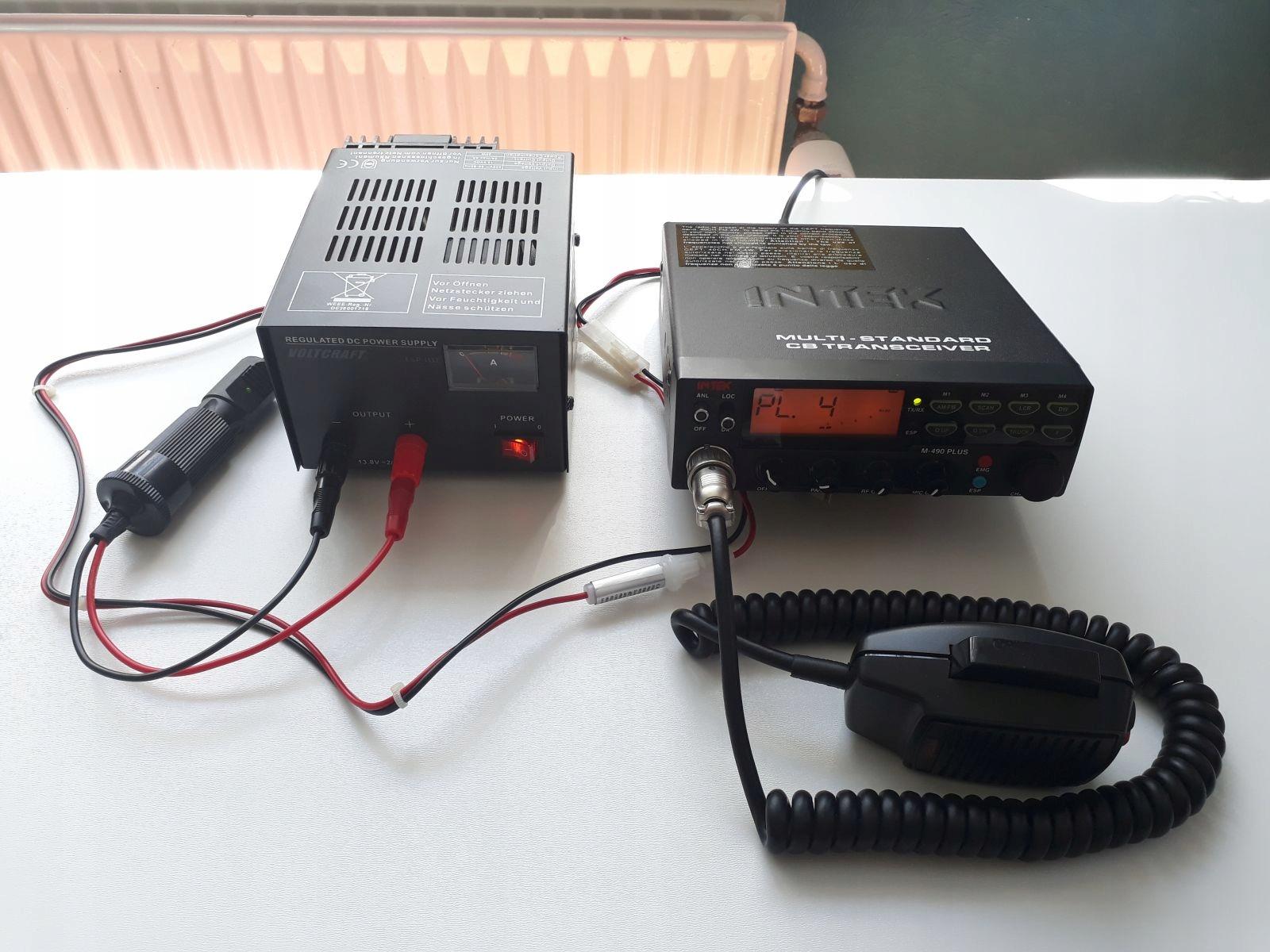 INTEK M-490 Plus radiotelefon CB po tuningu