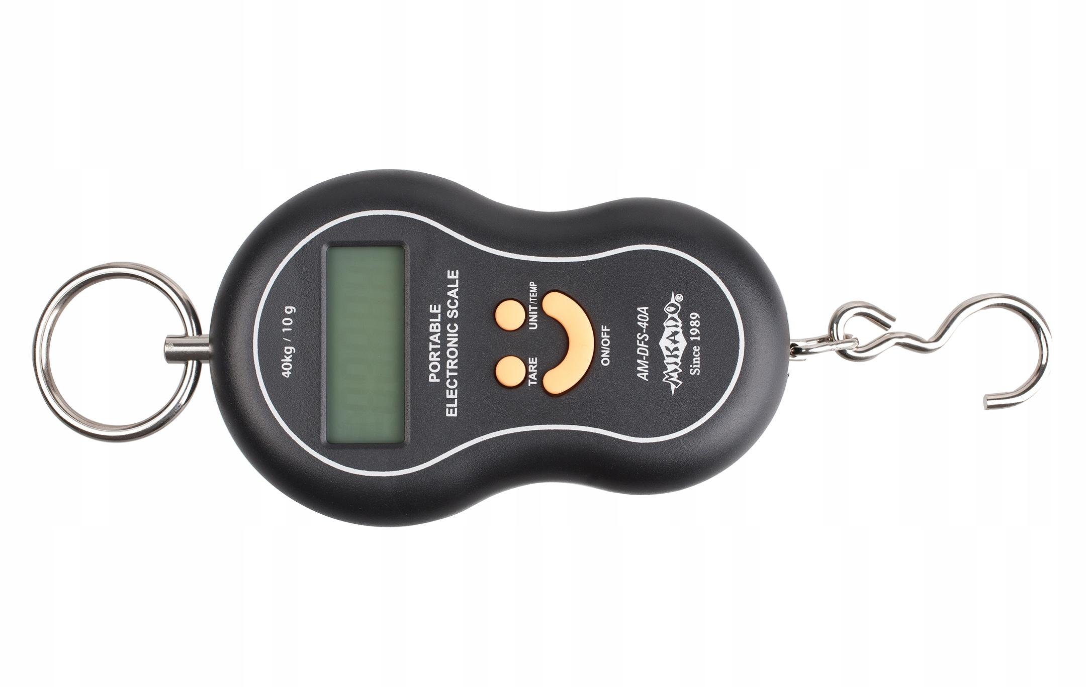 MIKADO waga elektroniczna wędkarska do 40 kg