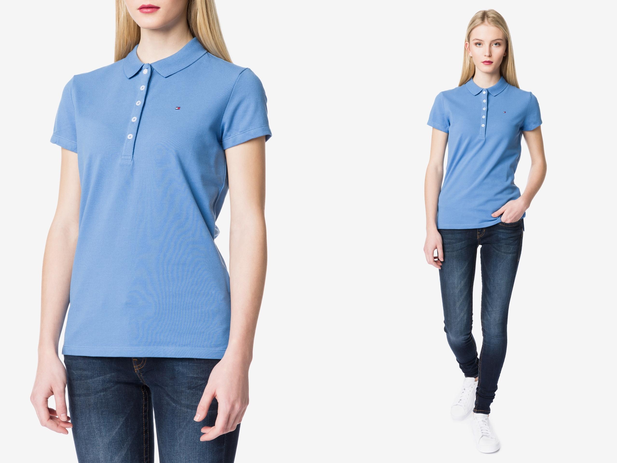 Tommy Hilfiger New Chiara Koszulka Polo Slim fit M