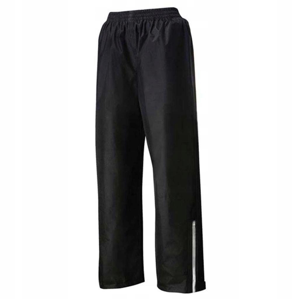 Willex Spodnie przeciwdeszczowe, rozmiar L, czarne