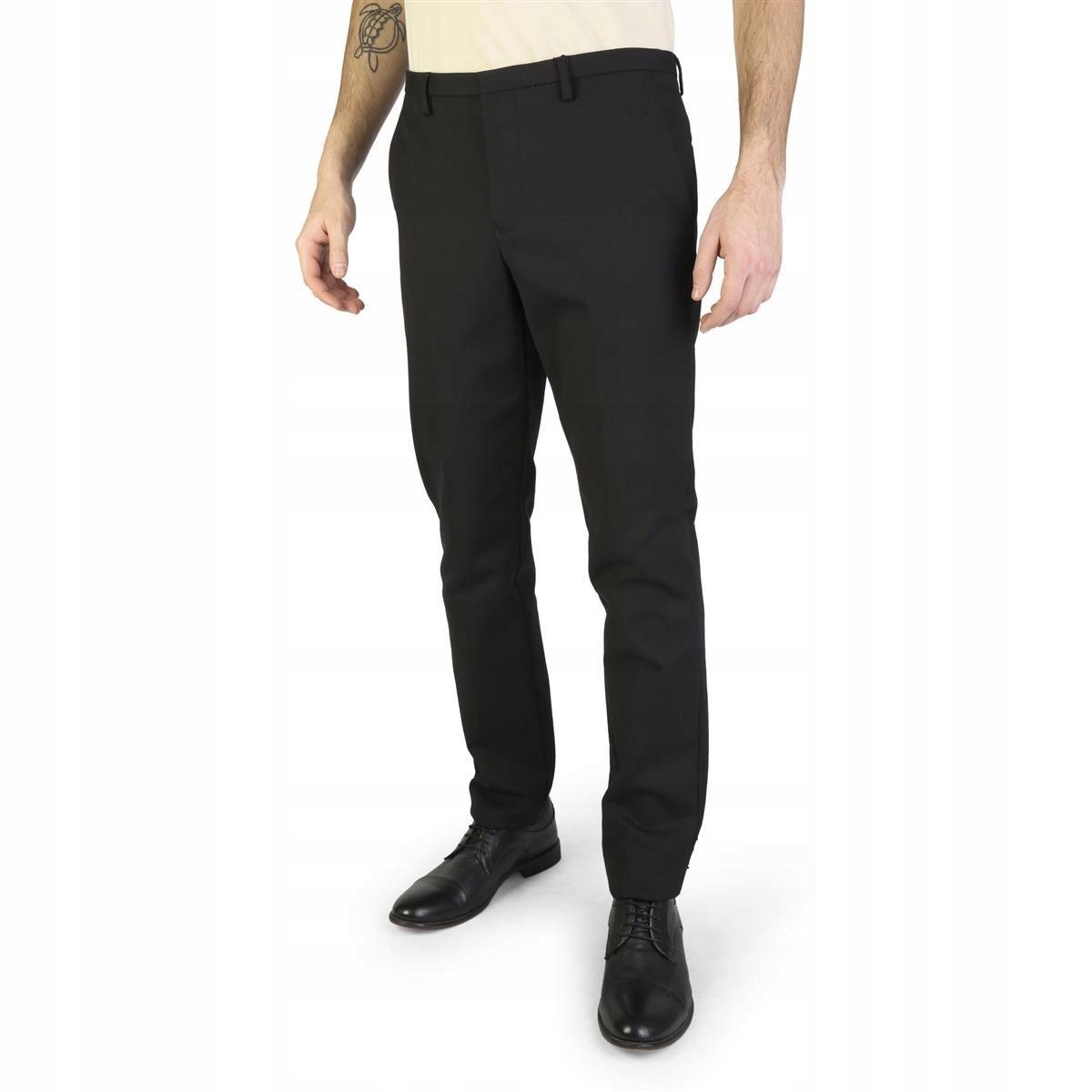 Emporio Armani męskie spodnie czarny 44