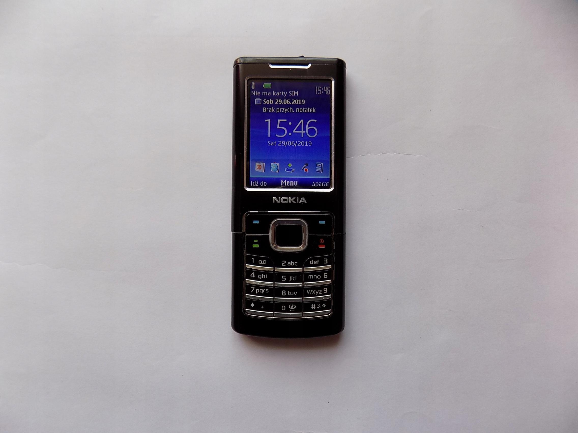 Nokia 6500c (classic) RM-265 bez SIM locka, polski