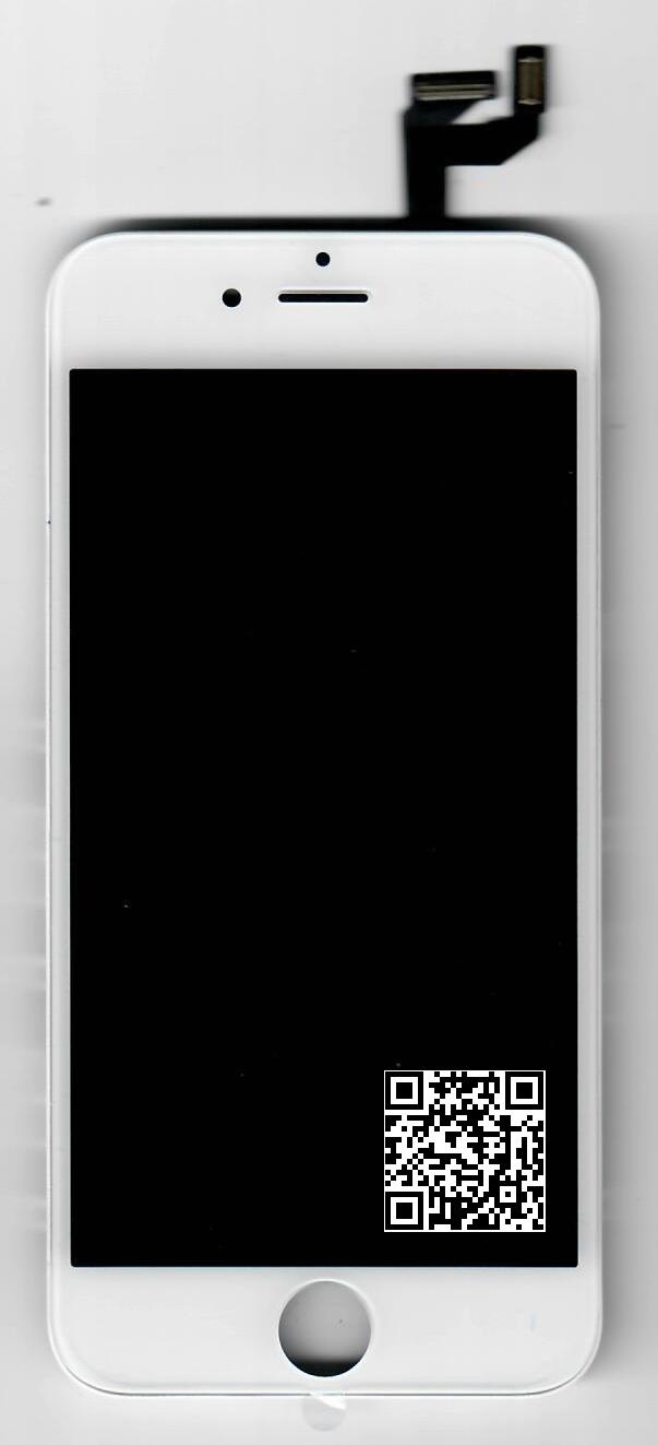 iPhone 6S LCD+DOTYK+RAMKA BIAŁY od P4P