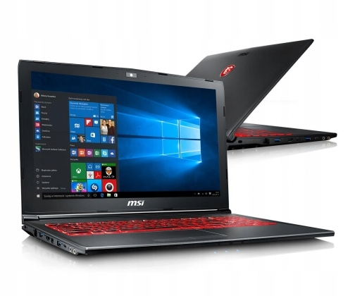OUTLET MSI GV62 i7-8750H 16GB 240+1TB GTX1050 Win