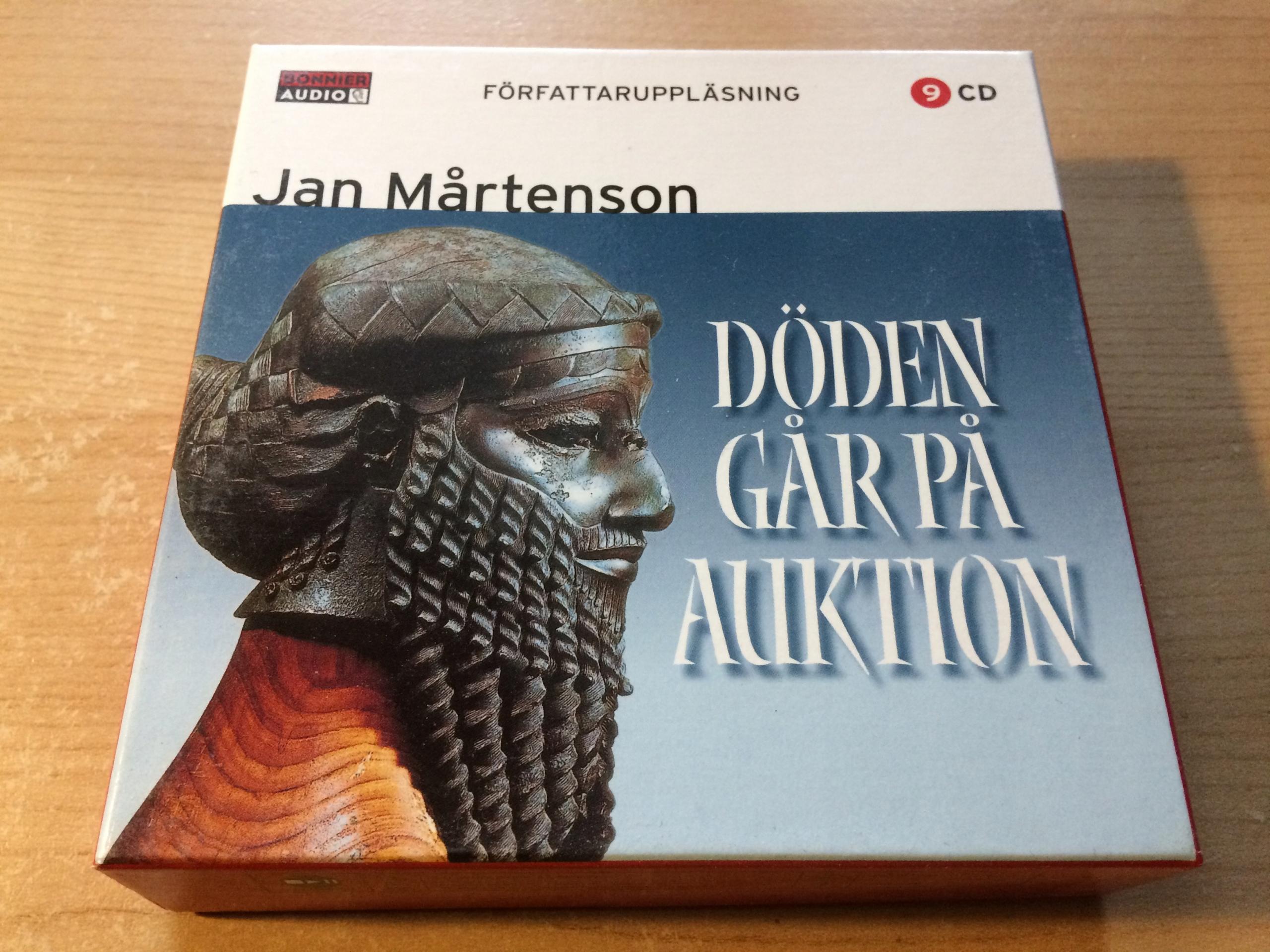JAN MARTENSON DODEN GAR PA AUKTION 9CD
