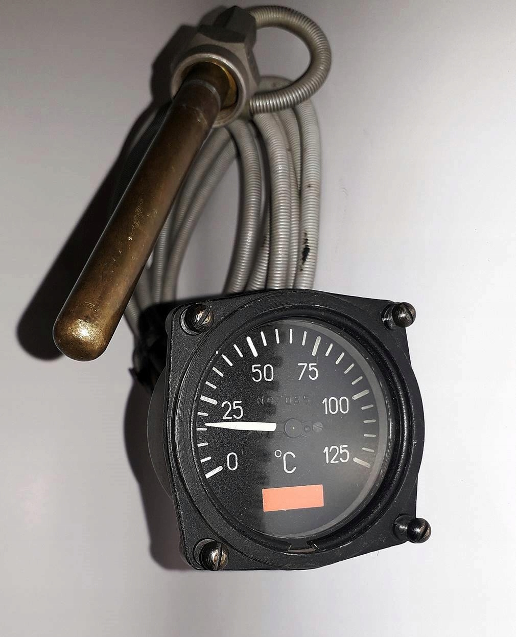 Termometr lotniczy, z samolotu, BCM