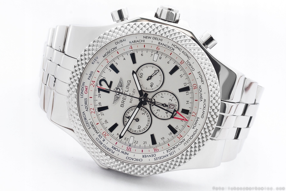 BREITLING FOR BENTLEY GMT REF.: A47362 /KPL.