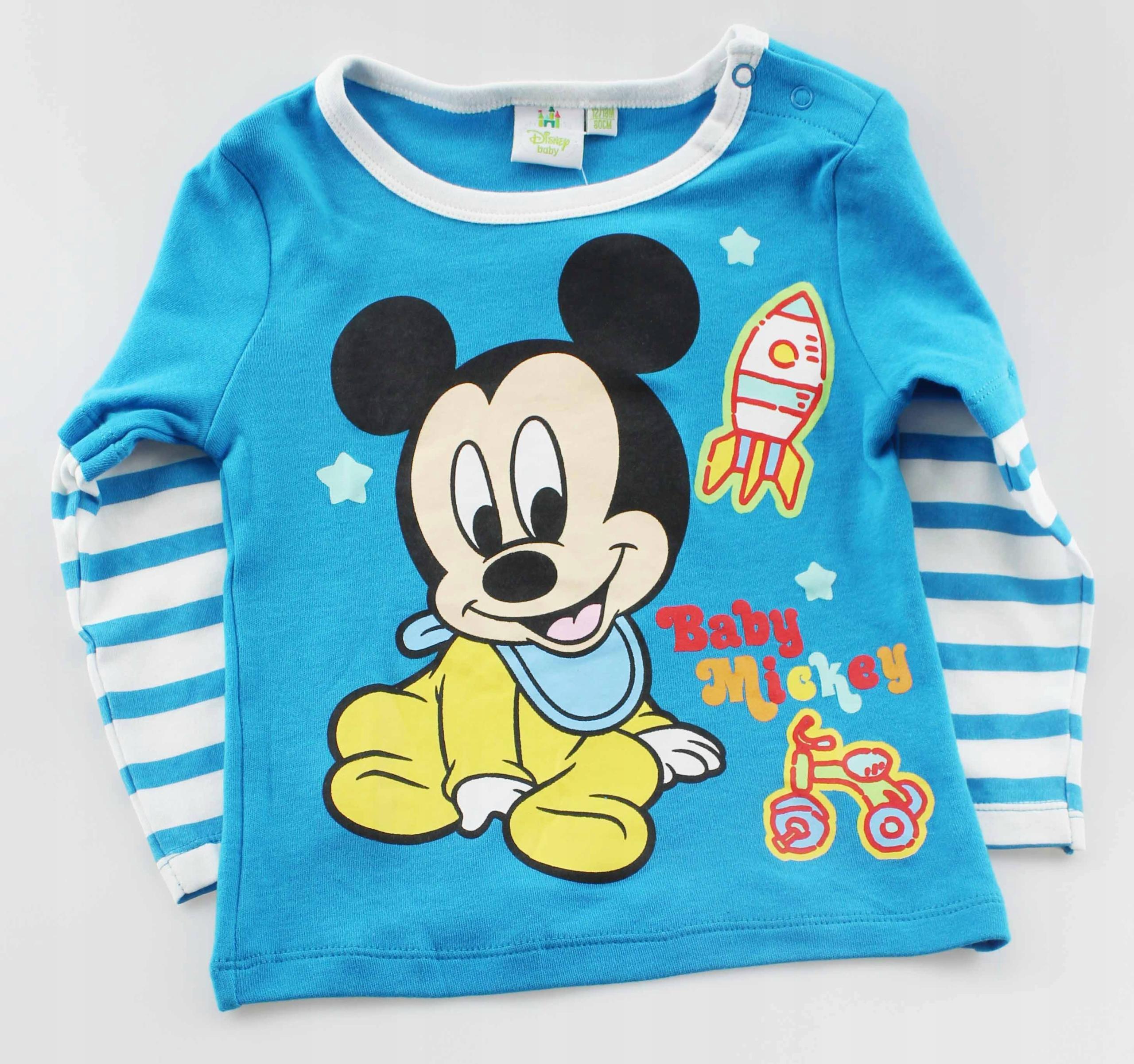 Bluzka Chłopięca Disney Myszka Mickey 86
