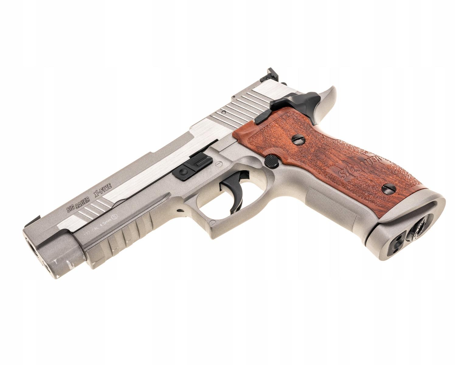 Wiatrówka Sig Sauer P226 X-Five 4,5 mm - silver